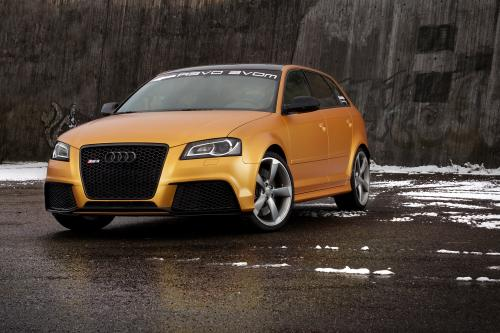 Schwabenfolia Audi RS3 Gold Orange, 1 of 13
