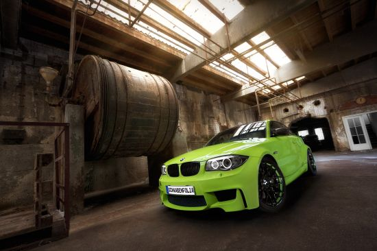 Schwabenfolia BMW 1M Coupe
