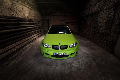 thumbs Schwabenfolia BMW 1M Coupe, 1 of 8