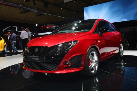 SEAT Ibiza Bocanegra at the Barcelona Motor Show