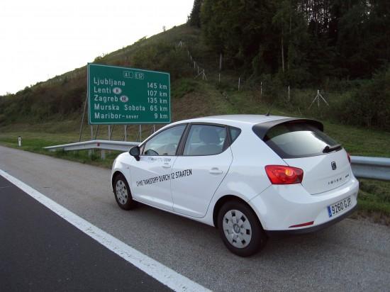 SEAT Ibiza ECOMOTIVE set a new fuel-saving record