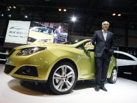 Seat is showcasing the Ibiza