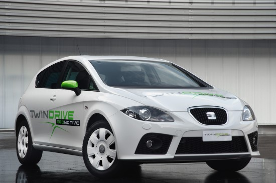 SEAT Leon Twin Drive Ecomotive project