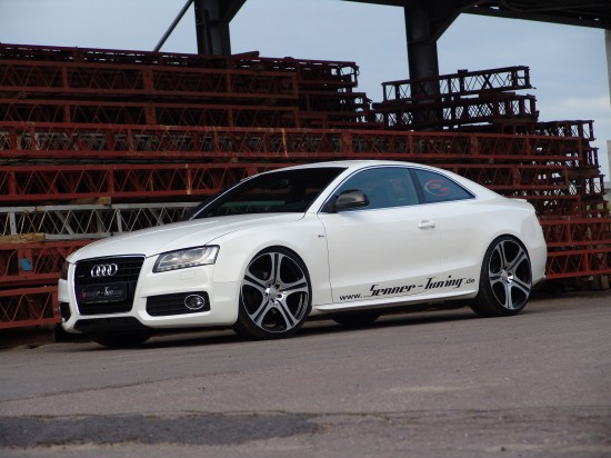 Senner Audi A5 with Carlsson Evo DS alloy wheels