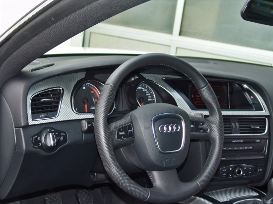 Senner Tuning Audi A5 BLACK & WHITE