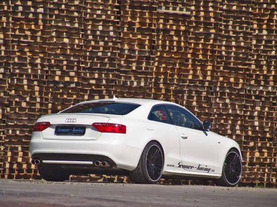 Senner Tuning Audi A5 BLACK & WHITE