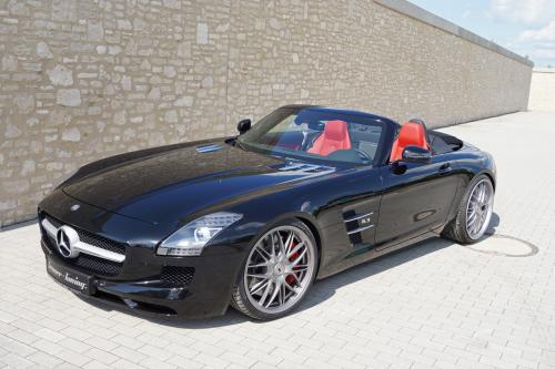 Mercedes-Benz SLS 63 AMG Roadster усиливается Senner Tuning
