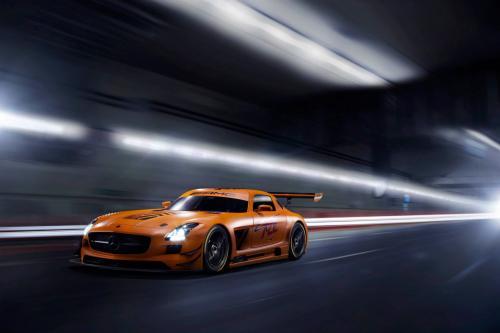 Сиверс Тюнинг Мерседес-Бенц СЛС АМГ в чемпионате GT3 45-летием издания