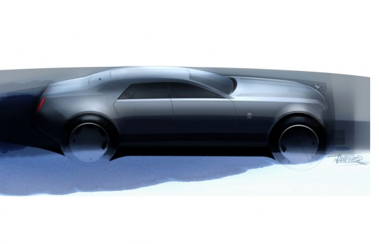 Sketches Rolls-Royce RR4