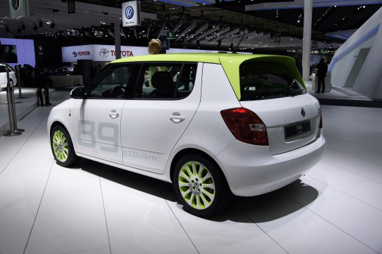 Skoda Fabia GreenLine Paris