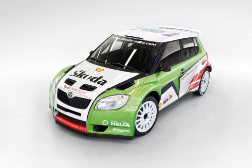 Заводская Команда Skoda Motorsport Появляться На Ралли Монте-Карло