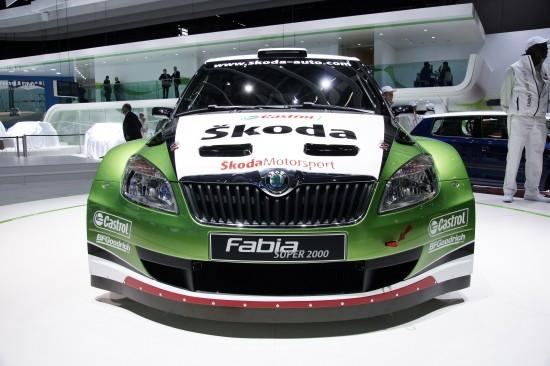 Skoda Fabia Super 2000 Geneva