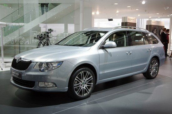 Skoda Superb Estate Frankfurt