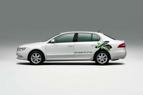 Skoda Auto Предоставляет Чешское Правительство С Великолепным Greenlines