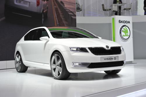 Skoda VisionD – новый концепткар представлен на автосалоне в Женеве. Фотографии.