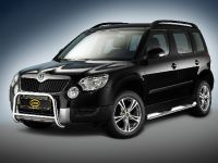 Skoda Yeti with energy absorbing Cobra Technology