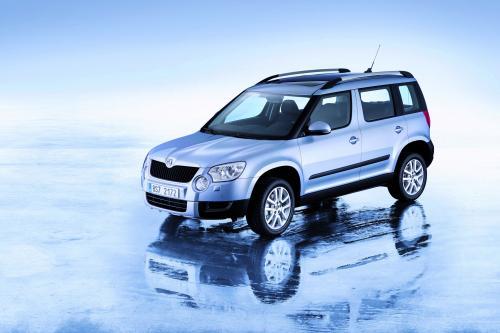 Skoda Выпускает Yeti На Автосалоне В Женеве