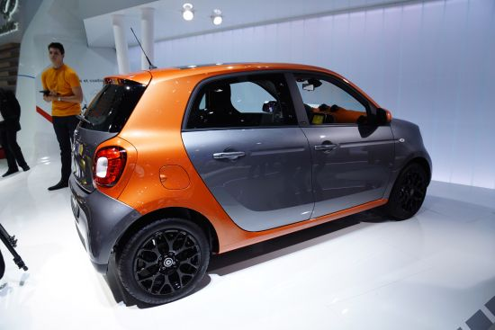 Smart ForFour Paris