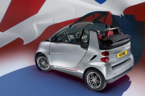 Smart британских хитов 10 лет с особыми модели Fortwo