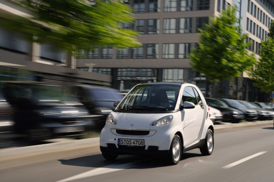 Smart Fortwo micro hybrid driver(mhd)