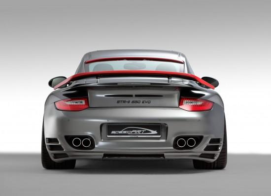 speedART BTR-II 650 EVO Porsche 911 Turbo