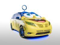 SpongeBob Movie-themed 2015 Toyota Sienna, 2 of 6