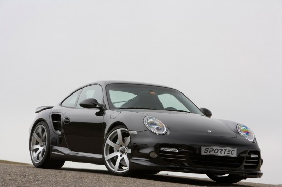 Sportec Porsche 997 Turbo SP580