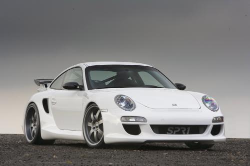 SPR1 T80 - 858bhp Porsche 997 на основе суперкара