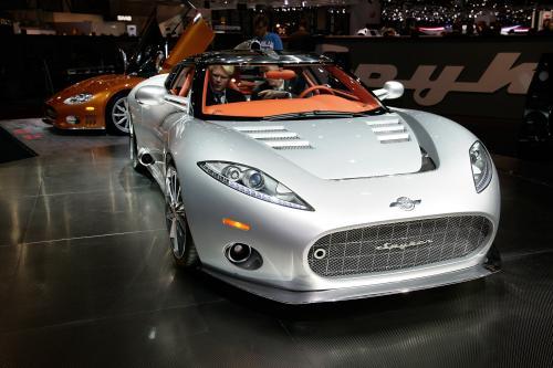 Мировой дебют для Spyker C8 Aileron на Женевском автосалоне