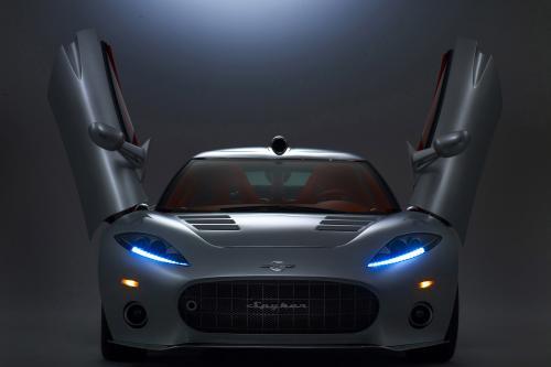 Spyker C8 Aileron серийная Версия дебютирует в New York International Auto Show