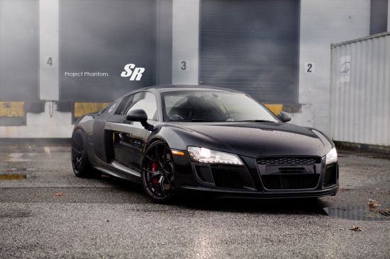 SR Auto Audi R8 Project Phantom
