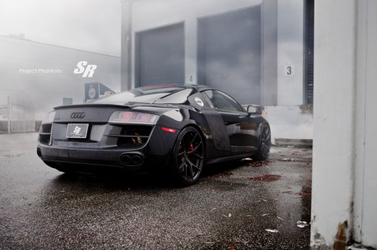 SR Auto Audi R8 Project Phantom