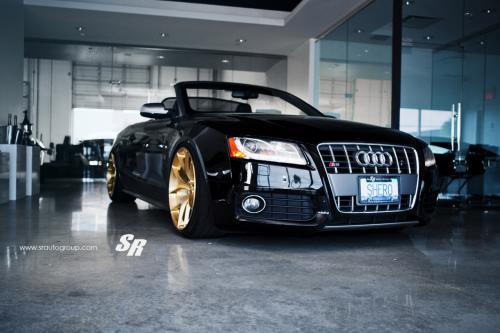 Больше золота для SR авто Ауди S5 Кабриолет