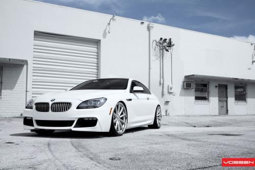 Белый воин: SR Auto BMW 650i Воссен VVS-CV1
