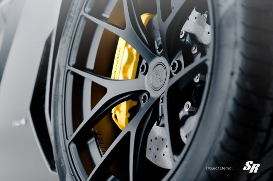 SR Auto Lamborghini Aventador LP-700 Nero Nemesis