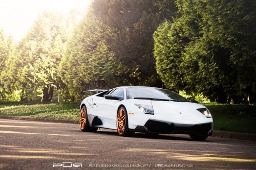 Золотой Ренессанс проекта: SR Auto, Lamborghini Murcielago LP670-4 SV - фотография lamborghini