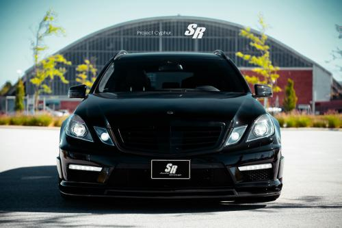 SR Auto Mercedes-Benz E63 AMG - проект Cyphur