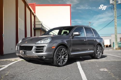 "Оттенков серого\"", проект: SR Auto Porsche Cayenne"