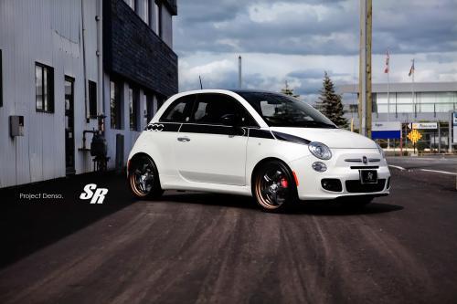 SR Auto проекта Denso Fiat 500 Prima Edizione