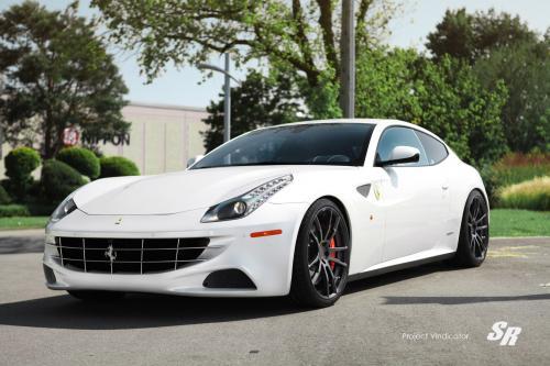 SR проекта Vindicator ставит PUR колесные диски на Ferrari FF