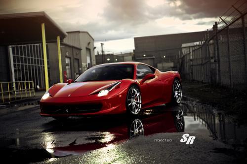 SR Ferrari 458 Italia проекта Era