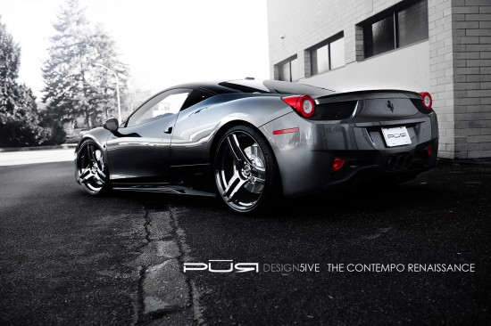 SR Project Kiluminati Ferrari 458 Pure Five