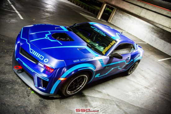 SS Customs Chevrolet Camaro