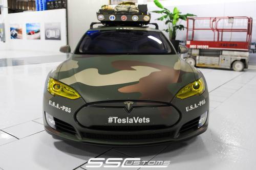 СС таможенных и Тесла создавать TeslaVets, чтобы отпраздновать день ветеранов