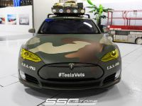 SS Customs Tesla Model S TeslaVets Project , 1 of 11
