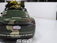 SS Customs Tesla Model S TeslaVets Project , 6 of 11