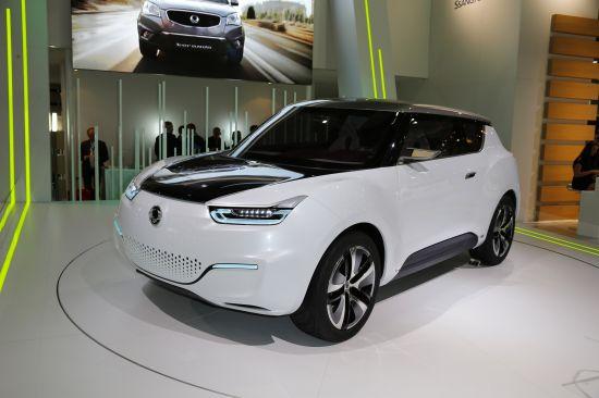 SsangYong e-XIV concept Paris