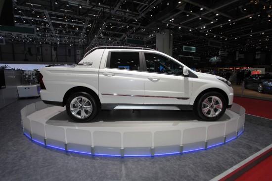 Ssangyong SUT 1 concept Geneva