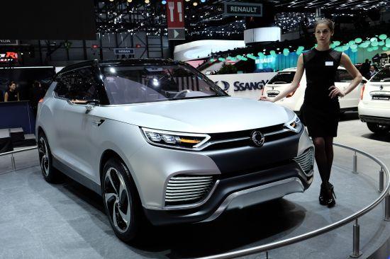 SsangYong XLV Geneva