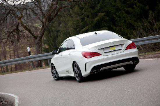 ST Suspensions Mercedes-Benz CLA-Class